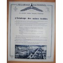 PUB 1928 L'ECLAIRAGE RATIONNEL DES USINES TEXTILES