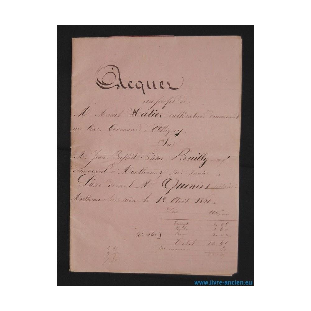 acte notari vente 1860 commune d 39 attigny devant constans queniot notaire 88. Black Bedroom Furniture Sets. Home Design Ideas