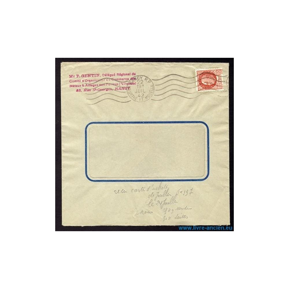 Enveloppe commerciale fen tre n 517 omec nancy r p du 22 for Enveloppe a fenetre