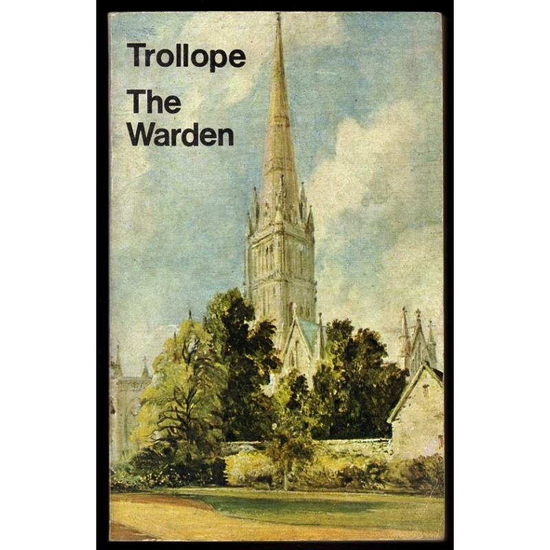 THE WARDEN Anthony Trollope 1977 Everyman's Library N°1182 English Book