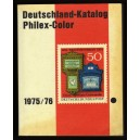 DEUTSCHLAND-KATALOG PHILEX-COLOR 1975/1976 Deutsche Bundespost PHILATELIE