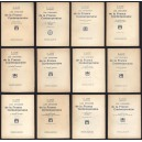 H. TAINE Les Origines De La France Contemporaine en 11 Tomes + Index 1928-32