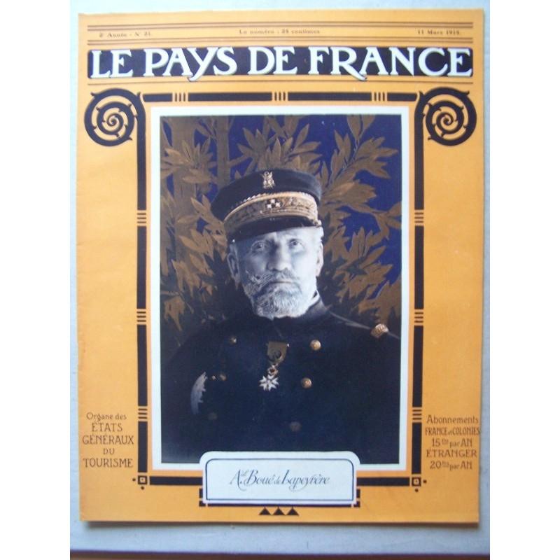 Le pays de france n° 21 du 11 mars 1915 le matin
